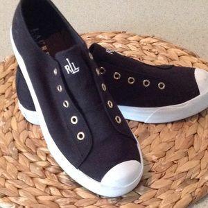 Lauren by Ralph Lauren sneakers black size 7.5
